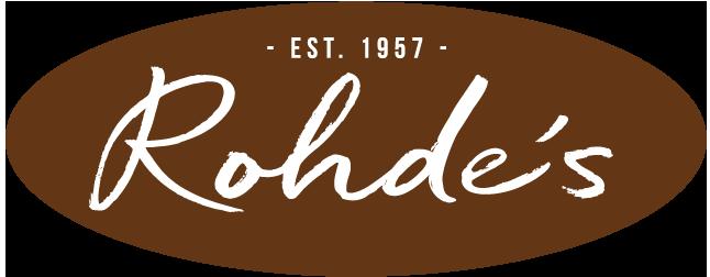 Rohde's Free Range Eggs Logo